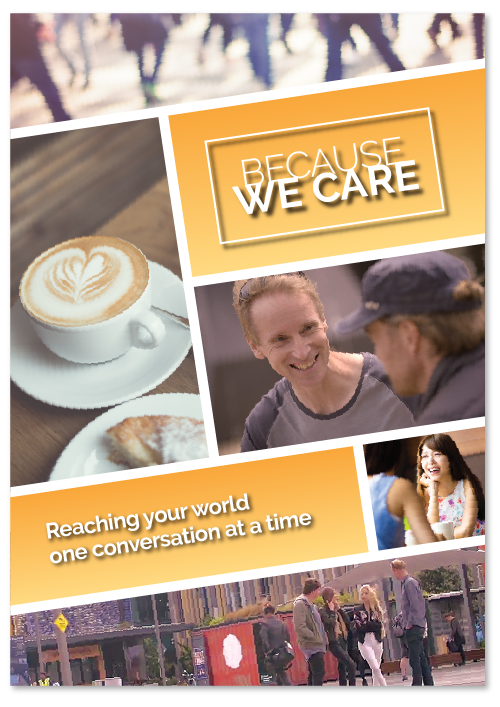 Because we care video series